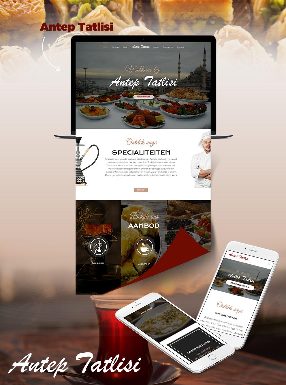 Website Antep Tatlisi