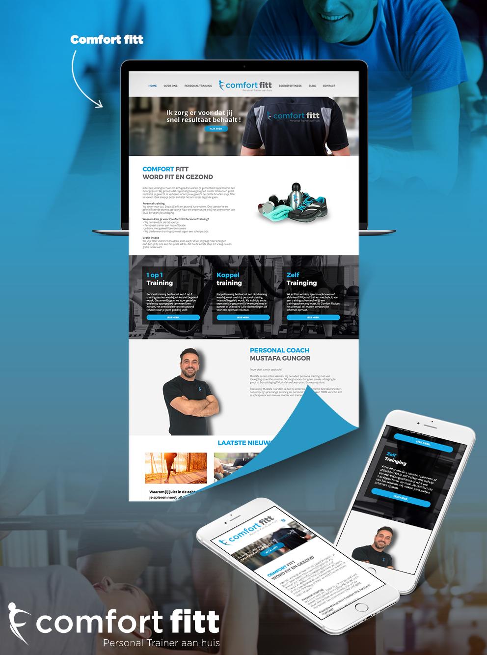 Website Comfort Fitt