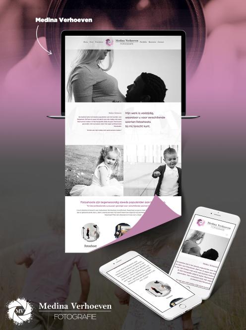 Website Medina Verhoeven
