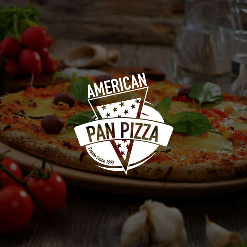 American pan pizza