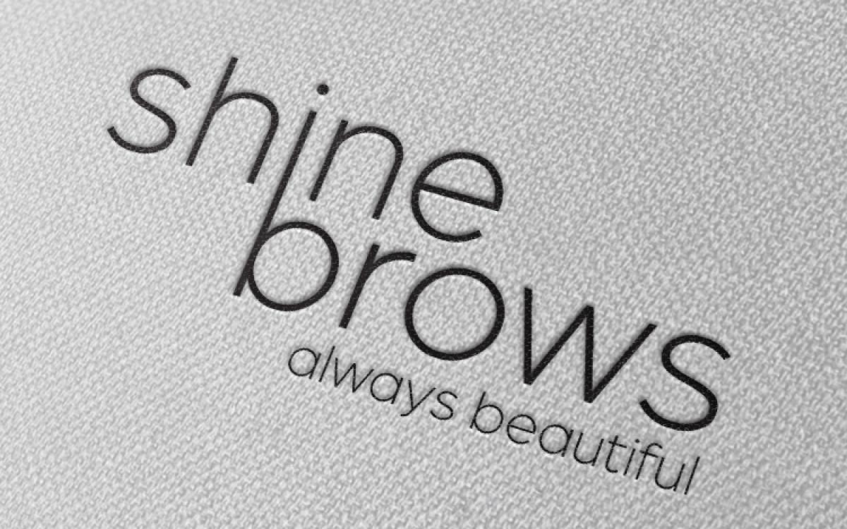 Logo Shine Brows