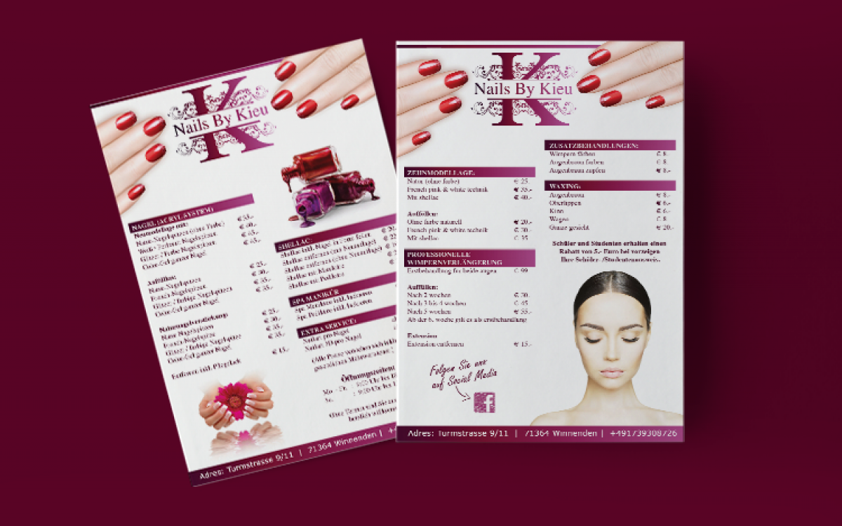 Nails By Kiew Flyer