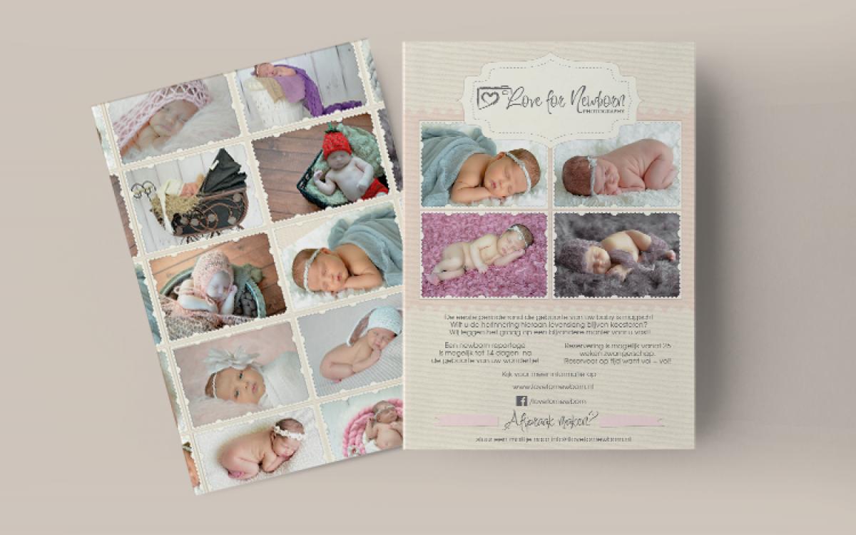 Love For Newborn Flyer