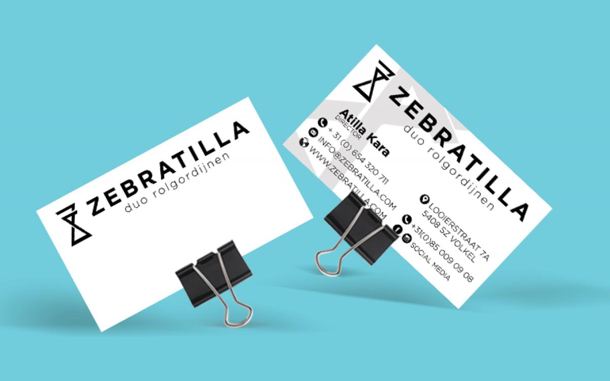 Zebratilla Visitekaart