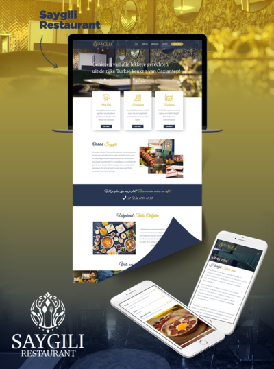 Website Restaurant Saygili